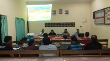 Rapat Loka Karya dan Penyusunan Tim Verifikasi